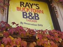 Ray's Bucktown B&B Chicago sign