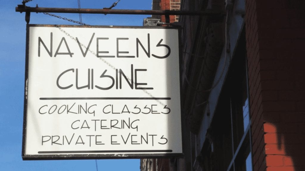 Haveens Cuisine sign